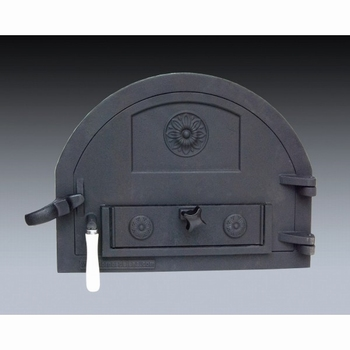 Gietijzeren deur Traditional Brick