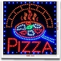 LED-Werbung Pizza