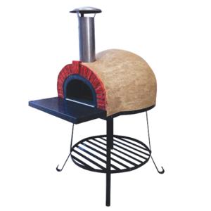 Amalfi Mediterranean portable oven AD70 Red Brick