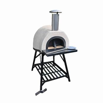 Amalfi Mediterranean portable oven AD60 Black Plain