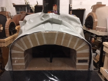 Beschermhoes Amalfi oven Real Brick-Rustic AD70