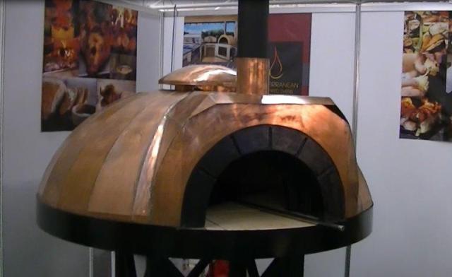 Amalfi koperen oven AD140