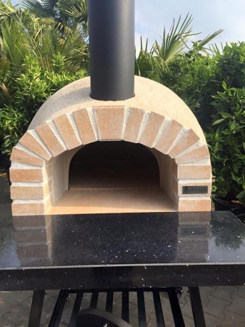 Amalfi Mediterranean oven AD70 REAL brick UITVERKOCHT