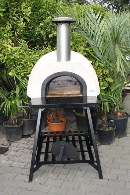 Amalfi Mediterranean portable oven 70 Black Front