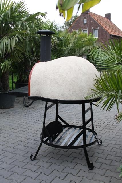 Amalfi Mediterranean portable oven 70 Red Brick