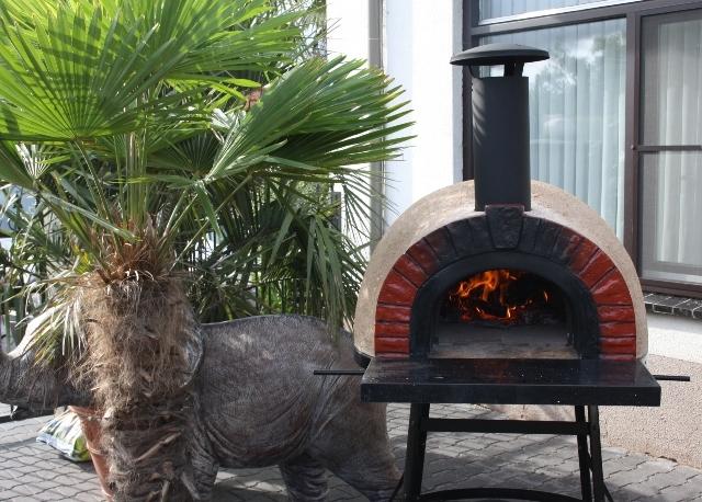 Amalfi Mediterranean portable oven 70 Red Brick UITVERKOCHT
