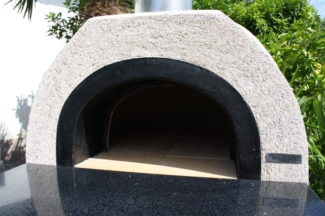 Amalfi Mediterranean portable oven AD60 Black Front