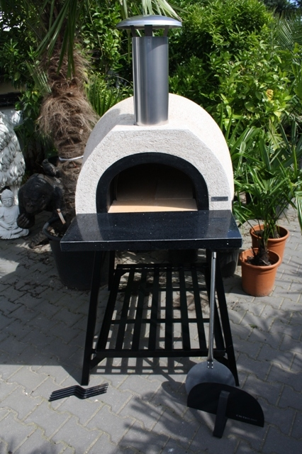 Amalfi Mediterranean portable Ofen AD60 Black Plain