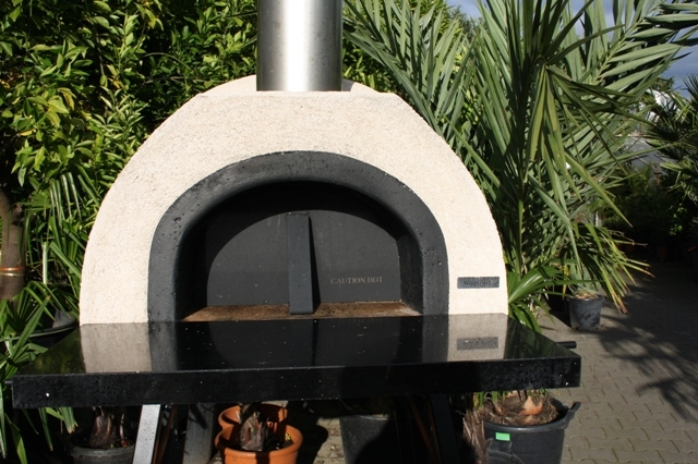 Amalfi Mediterranean portable ofen 70 Black Plain