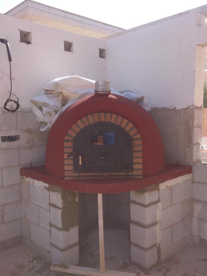Diagonaal geplaatste ovens
