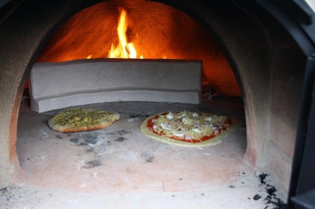 Hitzeschild Pizza backen gross