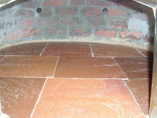 Holzbackofen 80 cm mit Kamin