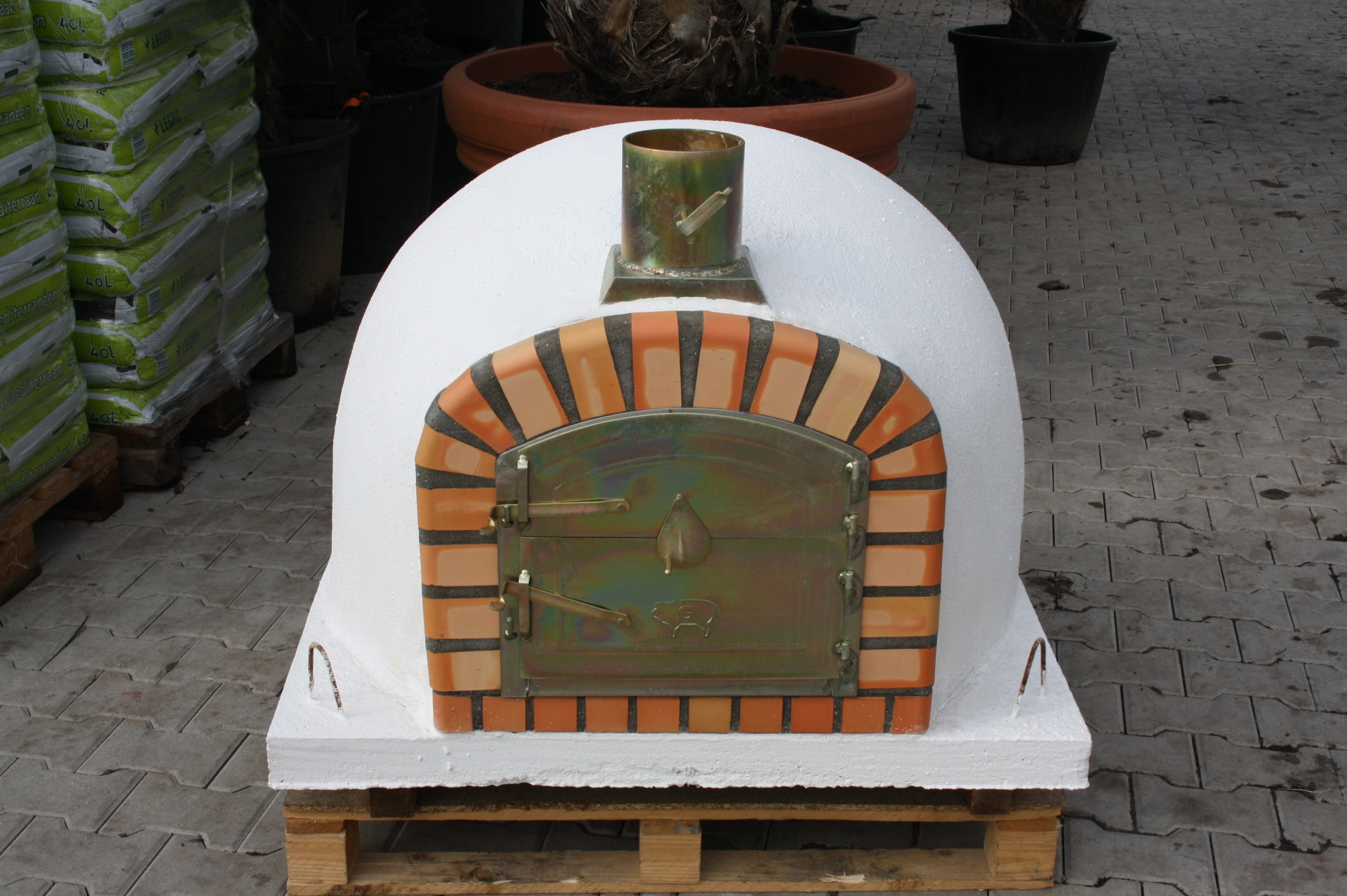 Oven Livorno 90 cm met hoge deur UITVERKOCHT