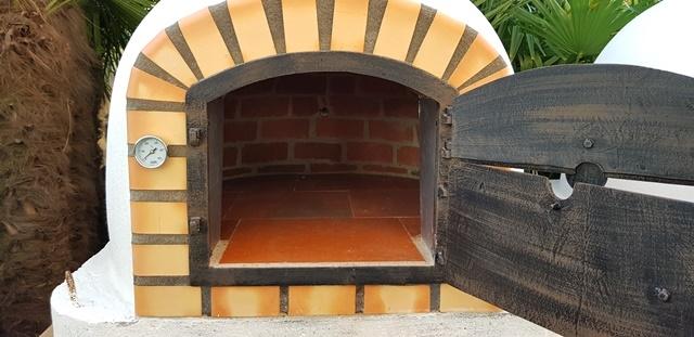 Oven Livorno geïsoleerd100cm