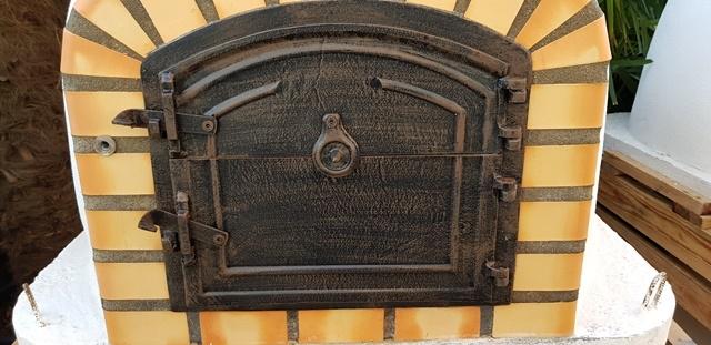 Oven Livorno geïsoleerd100cm met hoge deur
