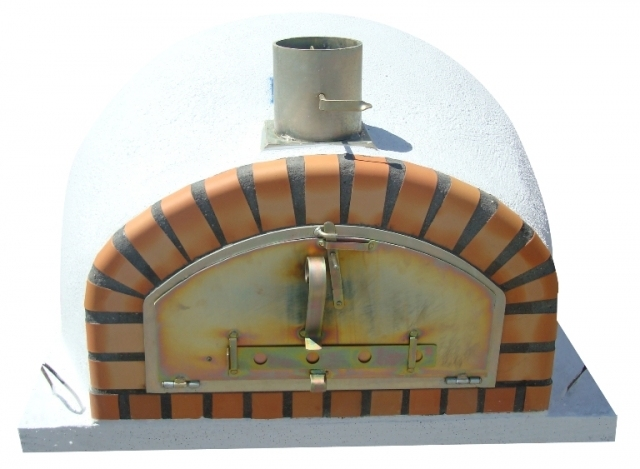 Ofen Pisa 100 cm mit breite Tür