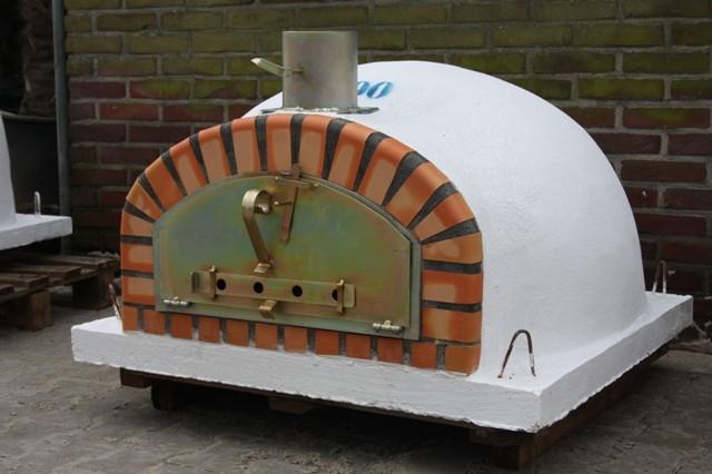 Oven Pisa 100 cm met brede deur