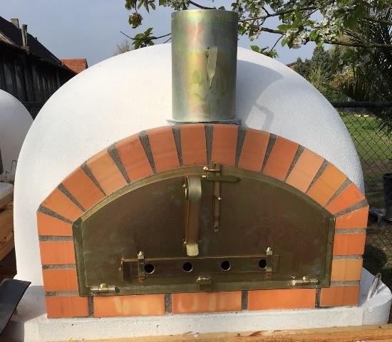 Oven Pisa 100 Geïsoleerd met brede deur