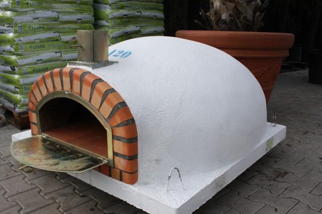 Oven Pisa 120 cm met brede deur