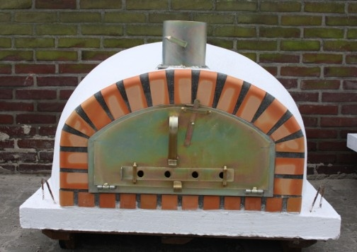 Ofen Pisa 90 cm mit breite Tür