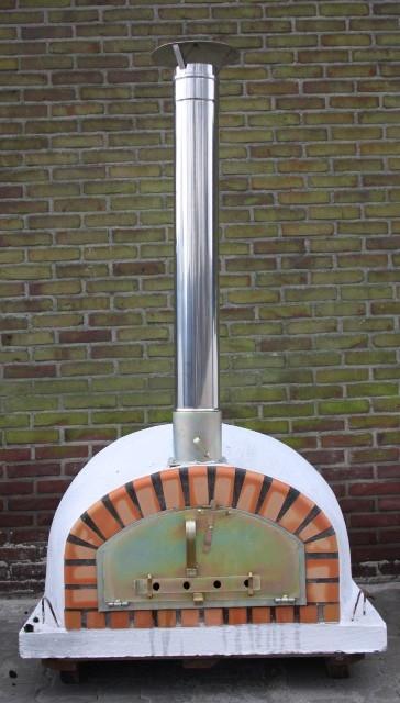 Oven Pisa 90 cm met brede deur