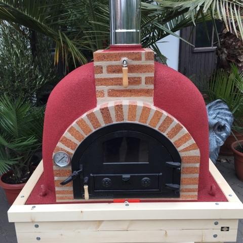 Pizzaoven Traditional brick 100/70 Nieuw model!