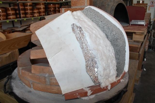 Pizzaoven Traditional Brick 130/90 3 kleuren