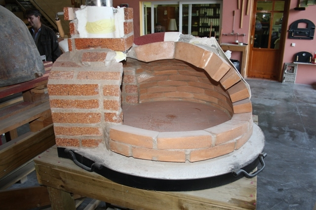 Pizzaoven Traditional Brick 130/90cm