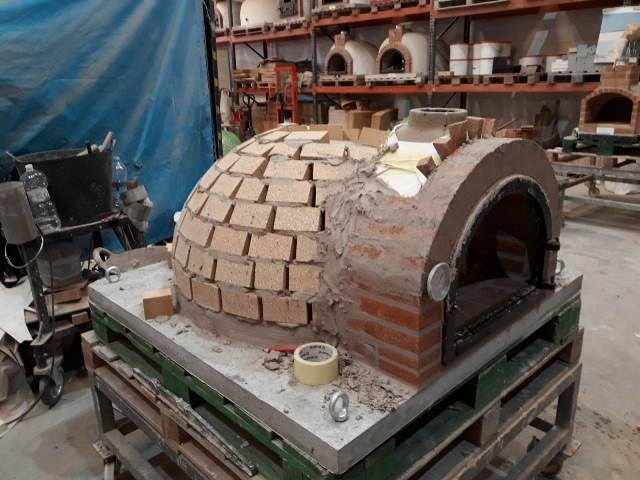 Pizzaoven Traditional Brick High Alumina NIEUW!