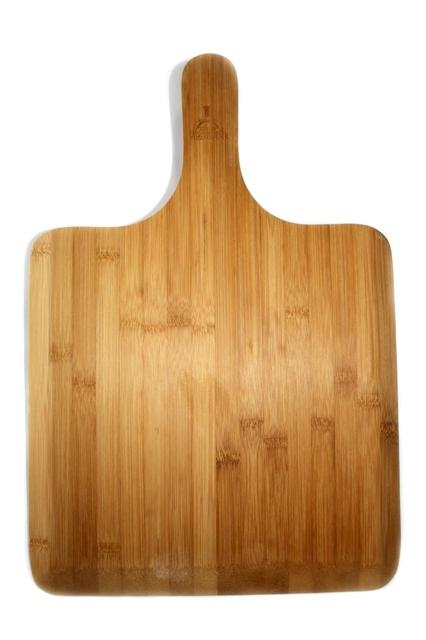 Pizzaplank bamboe / recht