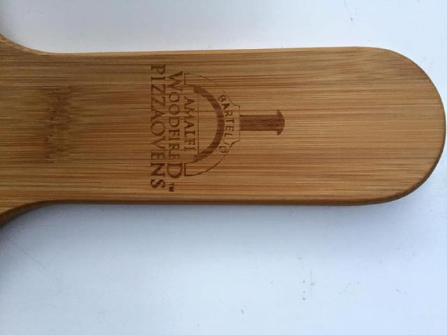 Pizzaplankje bamboe / half rond