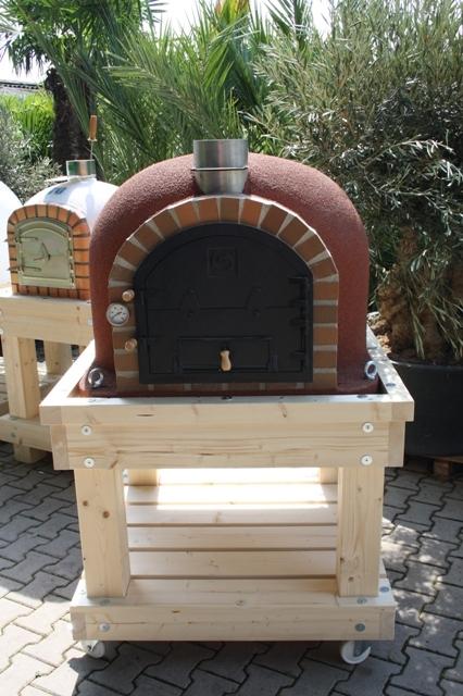 Robust Holz Untergestell für Ofengröße 100x100cm