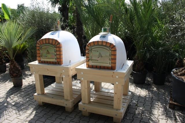 Robust Holz Untergestell für Ofengröße 80x80cm