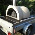 Vermietung Amalfi Family Ofen auf Anhänger