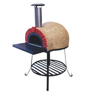 Amalfi Mediterranean portable oven AD60 Red Brick Arch