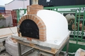 Pizzaoven Traditional Brick 130/90 3 kleuren