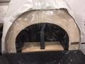 Beschermhoes Amalfi oven Black Plain AD60 of AD70